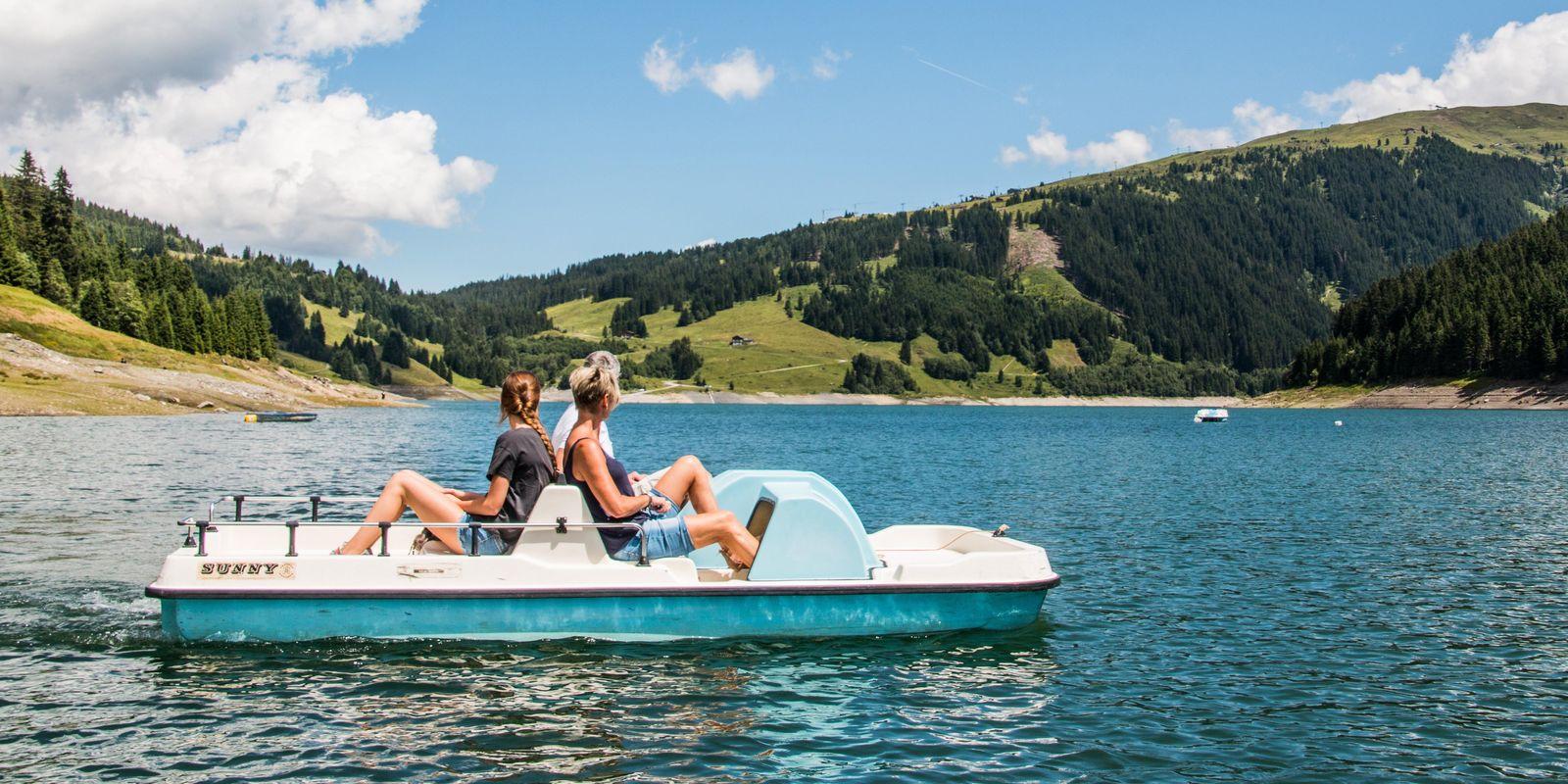 Tretbootfahren Durlassboden | © Zillertal Arena