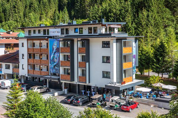 Hotel Victoria in Gerlos im Sommer