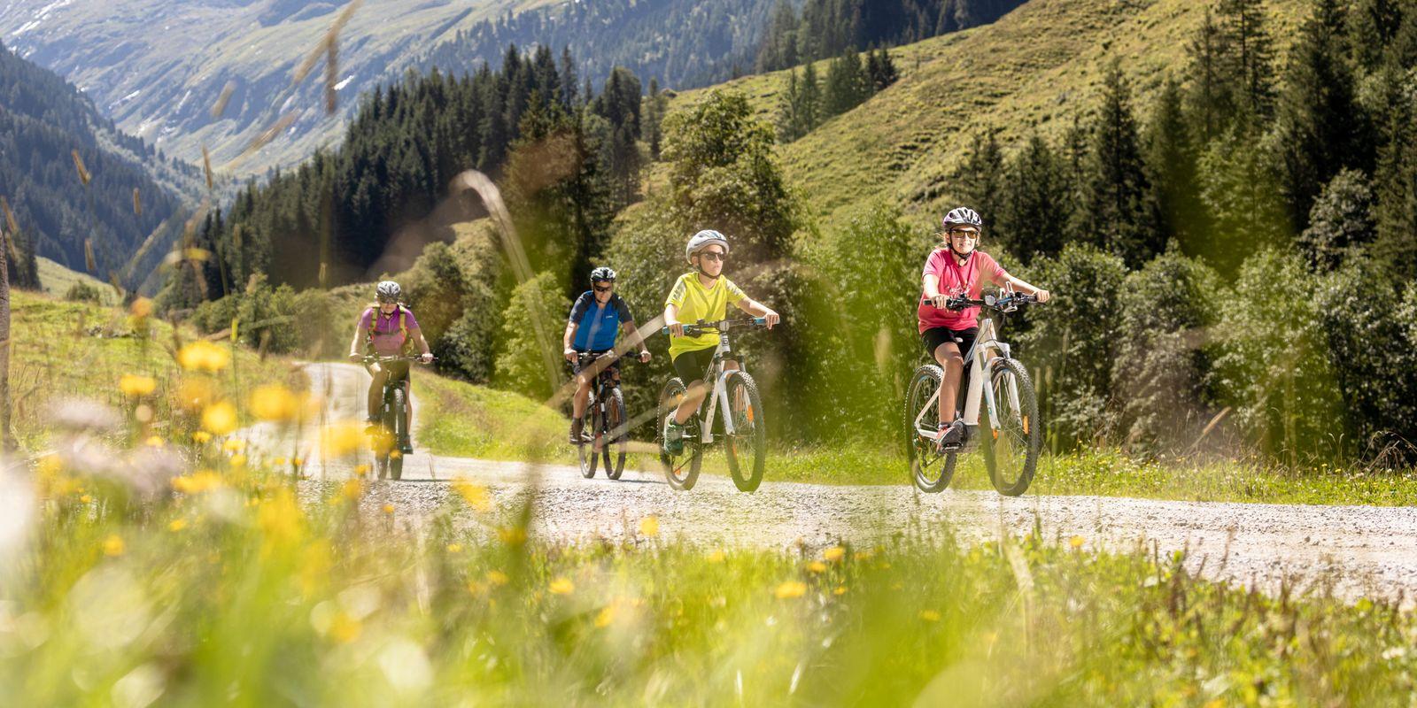 Family Bike | © Zillertal Arena