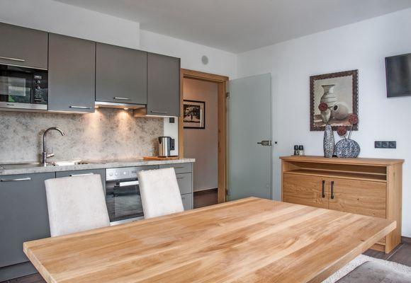 Wohnküche im Superior Appartement